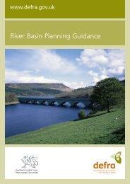 River Basin Planning Guidance - ARCHIVE: Defra