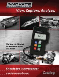 View. Capture. Analyze. - Innovate Motorsports