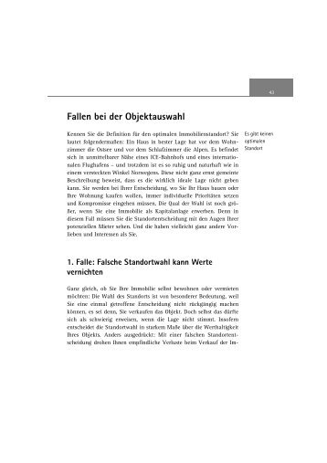 Immobilienkauf - Brückner / Lücke, Readingsample