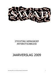 jaarverslag stichting werkgroep antibioticabeleid 2003