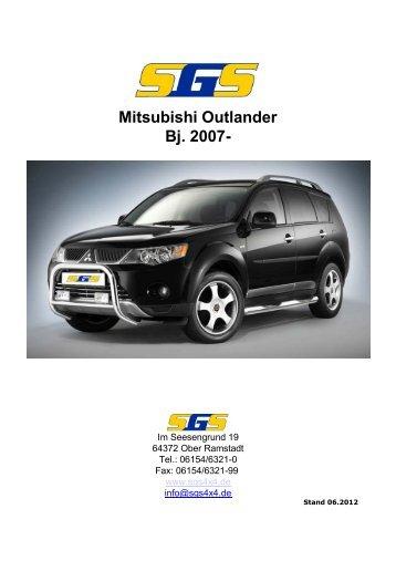 Mitsubishi Outlander Bj. 2007- - SGS