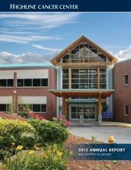 2012 ANNUAL REPORT - Highline Medical Center