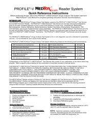 MEDTOXScan® Drugs-of-Abuse Test System Rev. 2/10