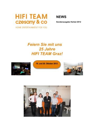 25 Jahre - HiFi - Team