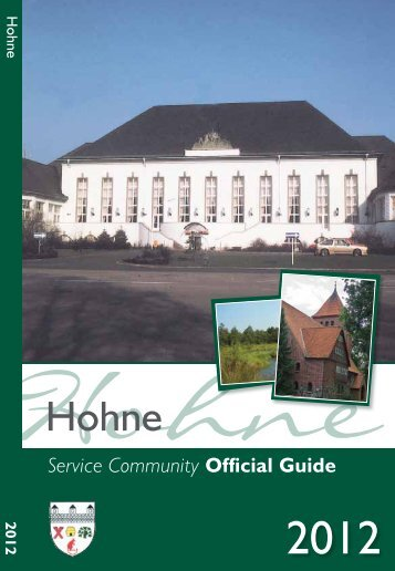 Hohne Service Community Official Guide - Method Publishing