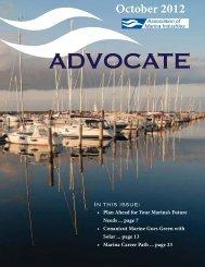 October 2012 - Association of Marina Industries
