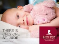 Annual Report - St. Jude Children's Research Hospital