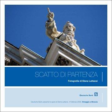 """""""Scatto di Partenza"""" BRESCIA - Francesco Cascino"""