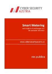 Smart Metering und mögliche Auswirkungen auf ... - Power Blackout