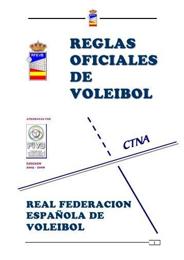 REGLAS OFICIALES DE VOLEIBOL