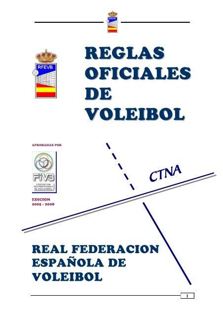 Las reglas oficiales del voleibol