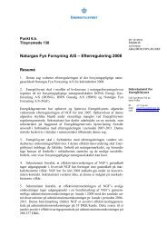 NGF - 2008 - Energitilsynet