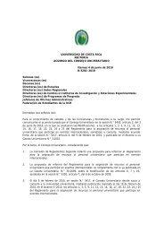Reglamento para la asignación de recursos al personal ...