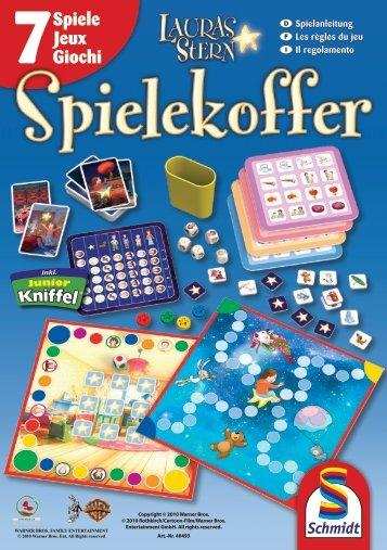 7Spiele Jeux Giochi - Schmidt Spiele