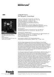 CONCEPT FILM (I) Dorit Margreiter / Ursula Mayer - diagonale 2009
