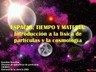 Introducción a la física de partículas y la cosmología