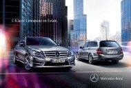 Brochure C-Klasse Estate downloaden (PDF) - Mercedes-Benz