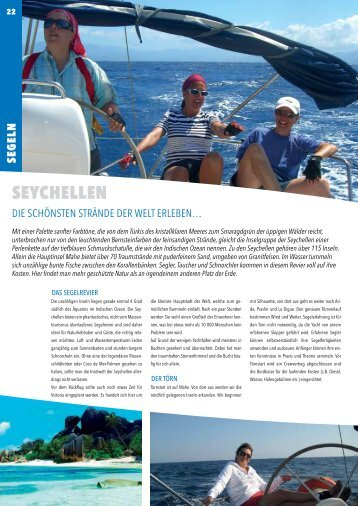 SEychELLEN - Windbeutel Reisen