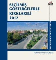 KIRKLARELİ - Türkiye İstatistik Kurumu