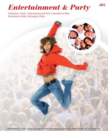 Entertainment & Party - Progedena