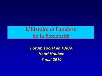 L'histoire et l'analyse de la flexicurité - Contacter un comité local d ...