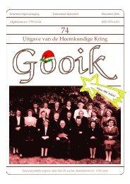 Nummer 74.qxd - Heemkundige Kring van Gooik