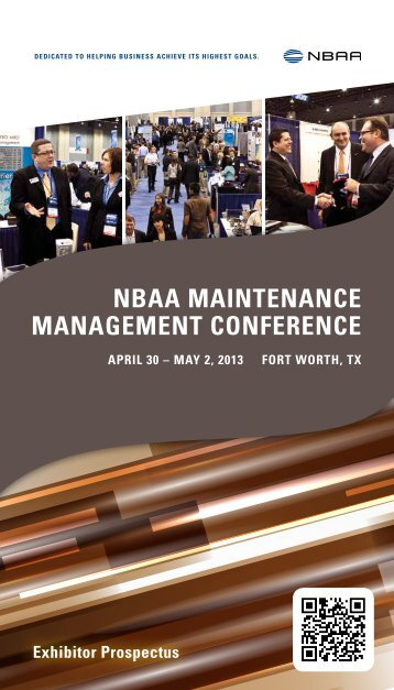 Download the Exhibitor Prospectus - NBAA