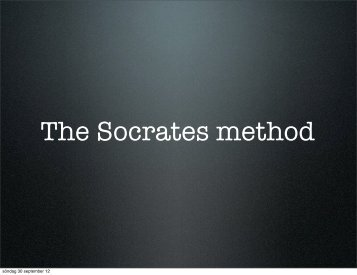 Socrates - Per Flensburgs hemsida