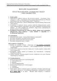 Regulamin Konkursu, plik pdf - Muzeum Armii Krajowej