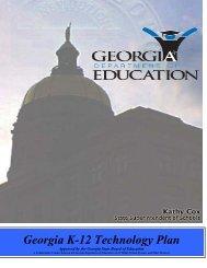 2007-2012 Georgia State Technology Plan