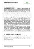 Social Media Marketing in Unternehmen 2012 - Deutsches Institut ... - Seite 2