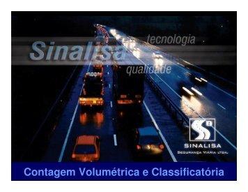 Sinalisa Contagem de Tráfego - DER