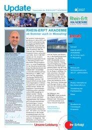 Update 02-2007 - Rhein-Erft-Akademie