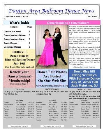 Dance(tonians) - Ballroom Dance Dayton