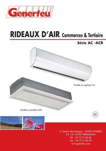 RIDEAUX D'AIR Commerces & Tertiaire Série AC -ACR - Annuaire