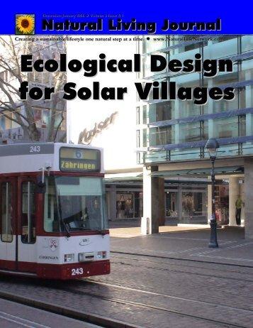 Jan 2006 Issue - Solar Village