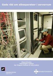 Gode råd om elbesparelser i serverrum