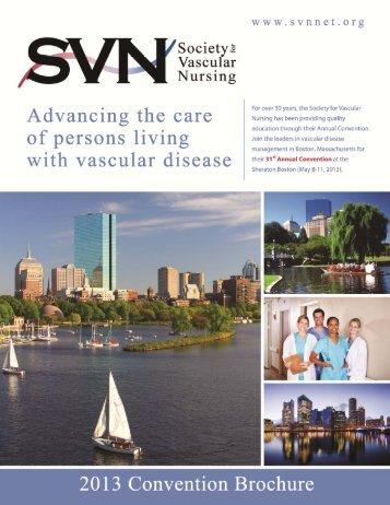 13 Preliminary Brochure.pub - Society for Vascular Nursing