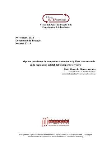 DOCTO LIC 007 Competencia en Transporte Terrestre