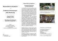 Wasserfallen für Amphibien – Praktische Anwendung im Arten ...