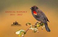 ANNUAL REPORT 2011 - 2012 - The Arboretum Foundation