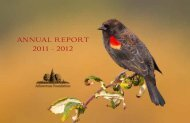 ANNUAL REPORT 2011 - 2012 - The Arboretum Foundation
