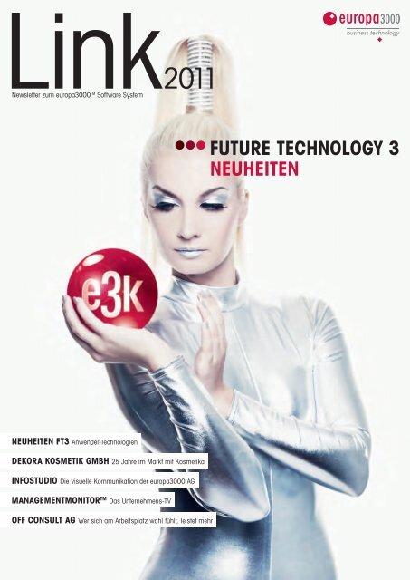 FUTURE TECHNOLOGY 3 NEUHEITEN