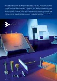 PDF Datei: Broschüre / Ackermann / Katalog UFS Estrichbündig