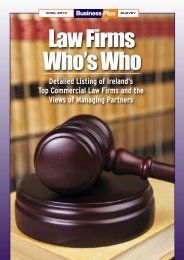 Law Firms Who's Who - Business Plus Online