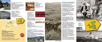 """Folder """"LebensBlickeWeg"""" - Marktgemeinde Sarleinsbach"""