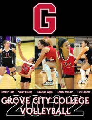 2012 volleyball guide.p65 - Grove City College