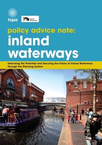Policy Advice Note: Inland Waterways - Town and Country Planning ...