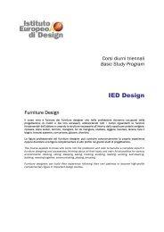 IED Design - IM education