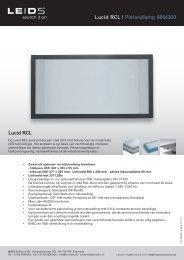 Lucid RCL | Plafondlamp 600/300 Lucid RCL - LEIDS
